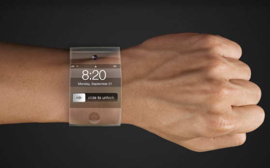 An iWatch prototype