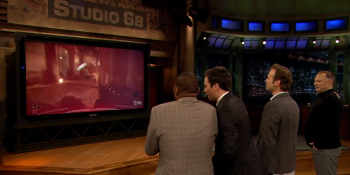 Killzone: Shadow Fall demo reveals that Jimmy Fallon isn't good at first-person shooters
