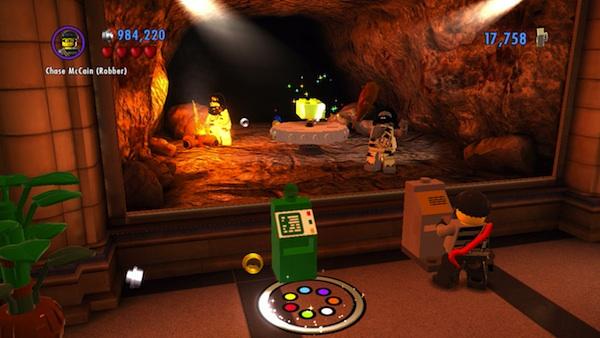 Lego City: Undercover museum