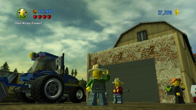 Lego City: Undercover tractor