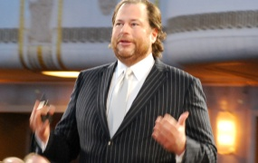 Salesforce CEO Marc Benioff.
