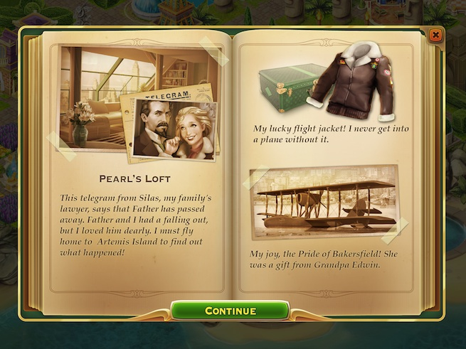 Pearl's Peril: journal