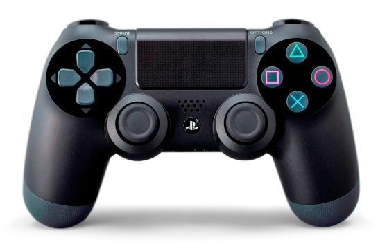 PlayStation 4 DualShock 4 - front view
