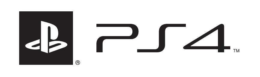 PS4 logo white