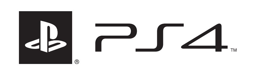 PS4 logo white