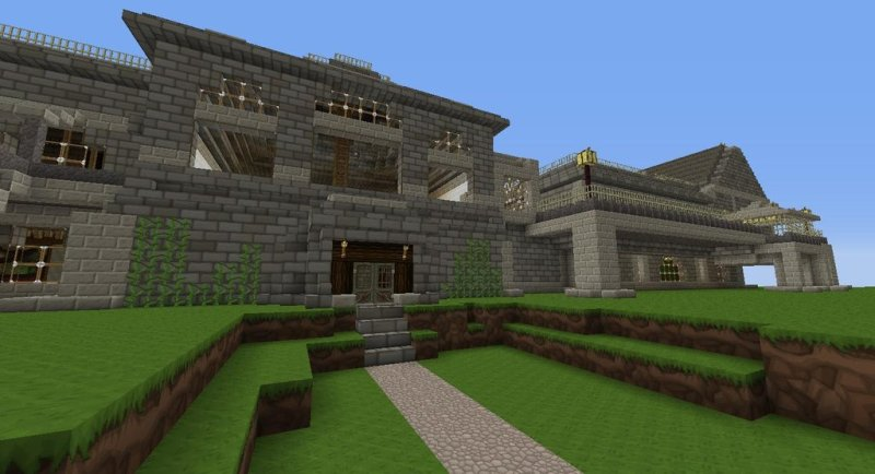 Resident Evil's iconic mansion re-created in Minecraft