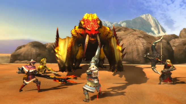 Monster Hunter 3 Ultimate: Sand Barioth (Wii U)