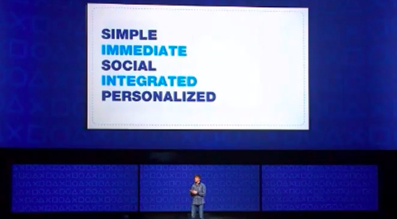 Sony Design Principles for PlayStation 4