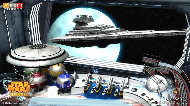 Star Wars Pinball: Episode V