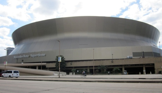 The superdome will have a huge Wi-Fi network for Super Bowl Sunday