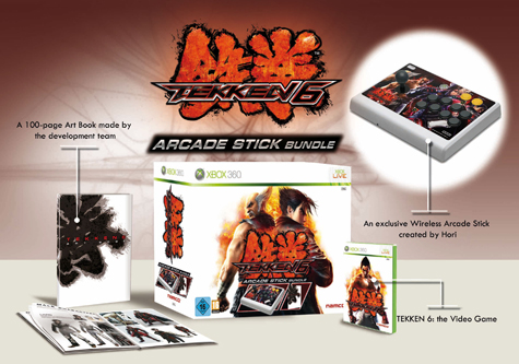 Tekken 6 Wireless Arcade Stick Bundle