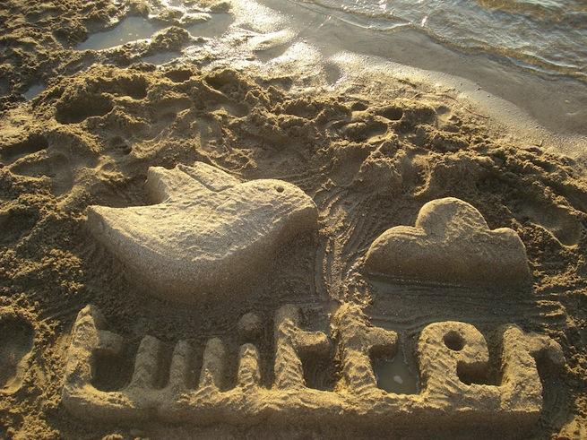 twitter sand