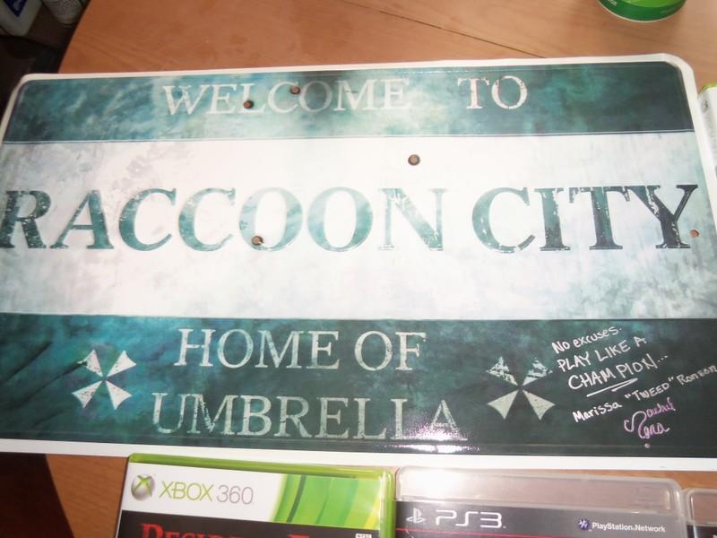 Raccoon City Sign
