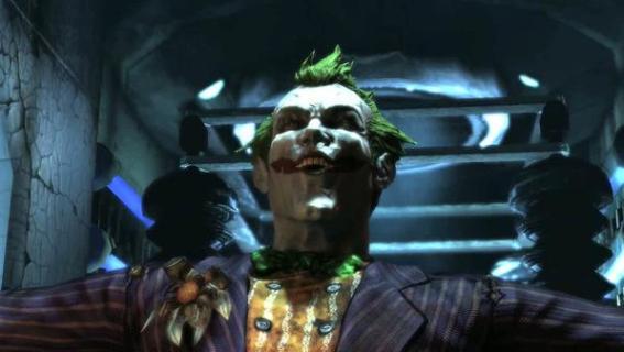 Joker in Batman: Arkham Asylum