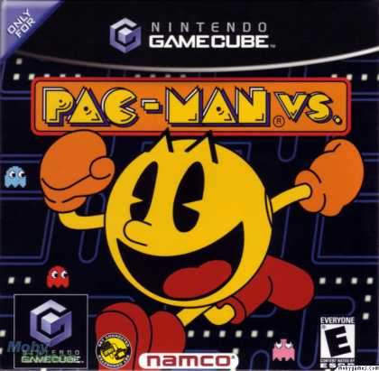 Pac-Man Vs. cover art