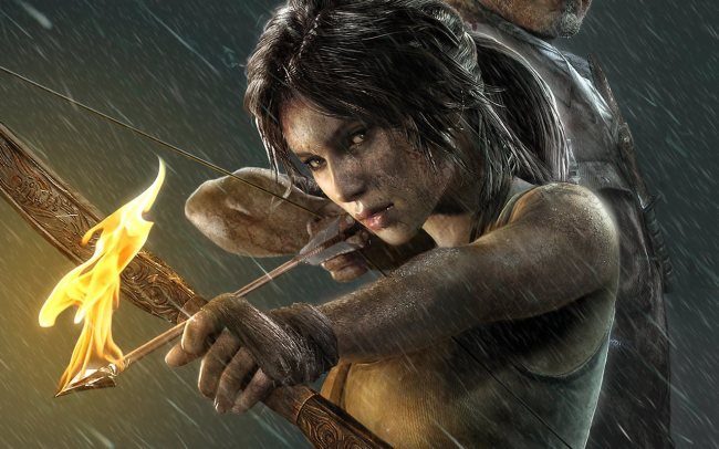 Lara Croft in the 2013 Tomb Raider reboot.