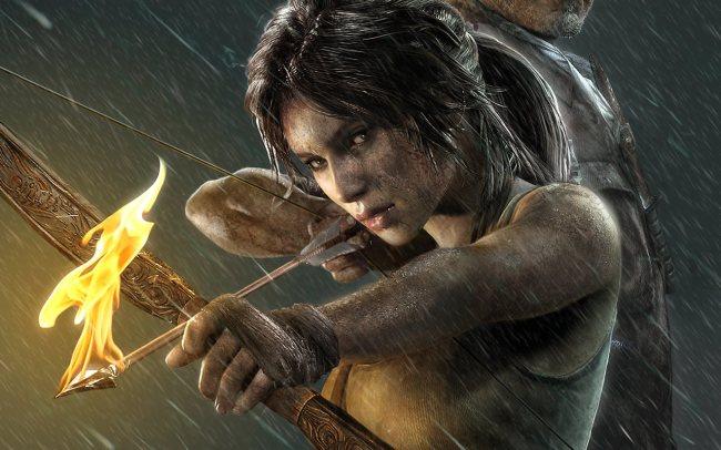 Lara Croft in the 2013 Tomb Raider reboot.