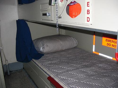 Naval sleeping quarters