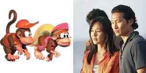 Diddy Dixie Kong Sun and Jin