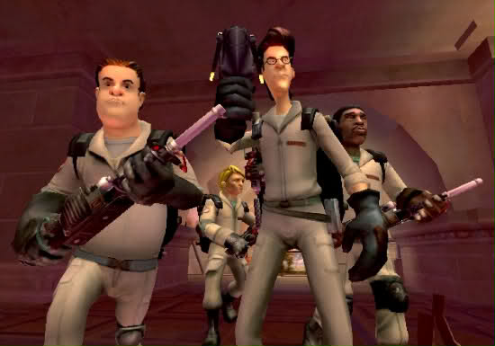 The titular Ghostbusters