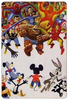 Marvel chases Disney!