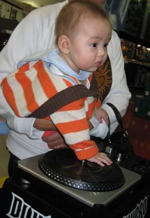 Baby DJ Hero