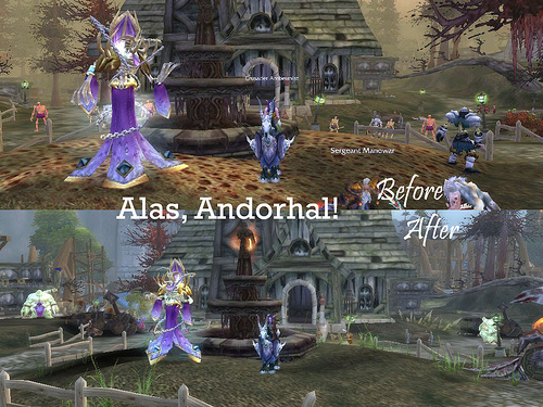 Andorhal Before and After
