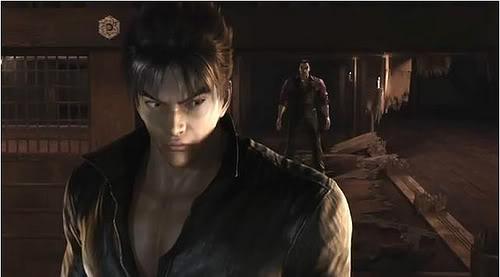 Jin and Kazuya