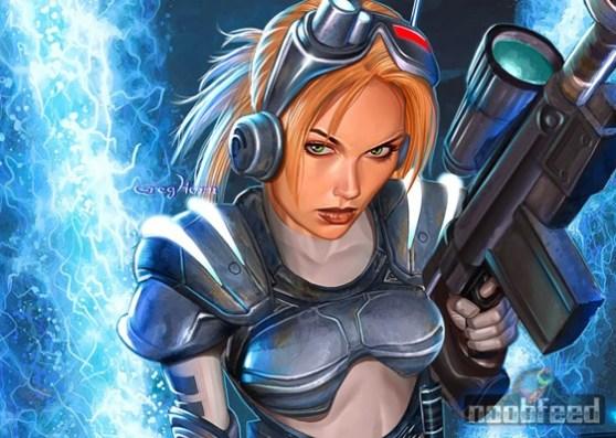 Nova from StarCraft: Ghost