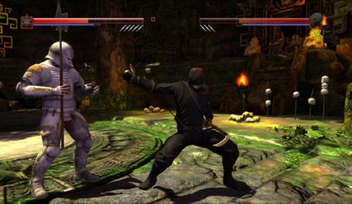 Deadliest Warrior: The Game - Knight vs. Ninja