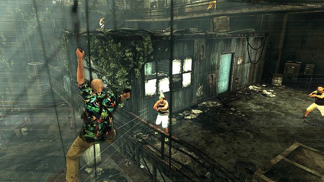 Max Payne 3 hook shot