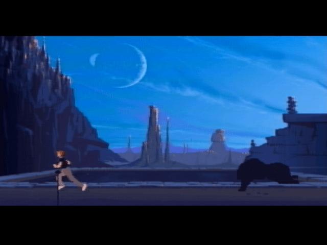 Another World Atari Jaguar screen