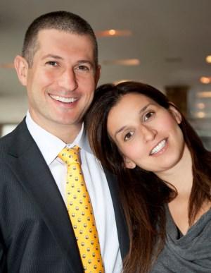 Kenny Rosenblatt and Jessica Rovello, founders of Arkadium.
