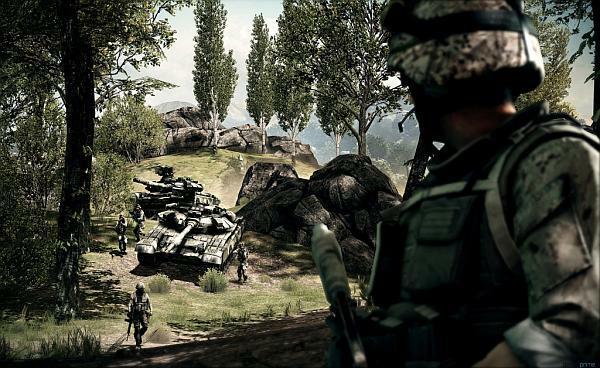 Multiplayer in Battlefield 3.
