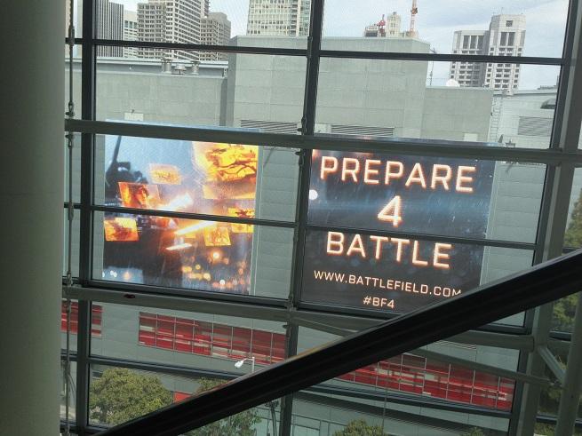Battlefield 4 at GDC
