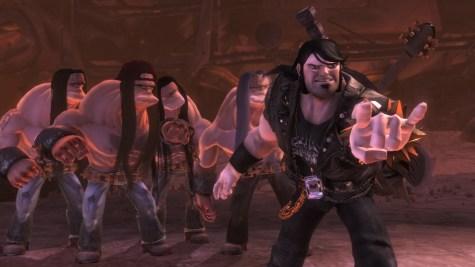Brutal Legend - Headbanging horns