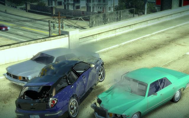 Burnout Paradise collision