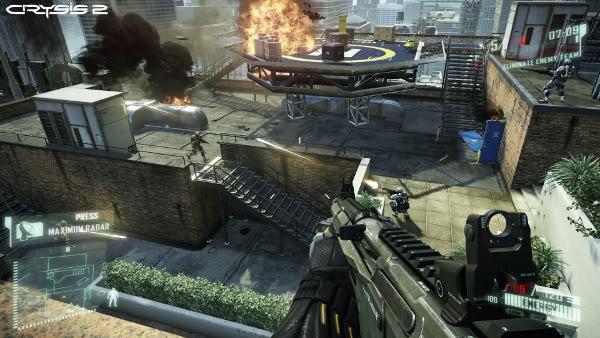 "Crysis 2 multiplayer's ""Crash Site"" map"