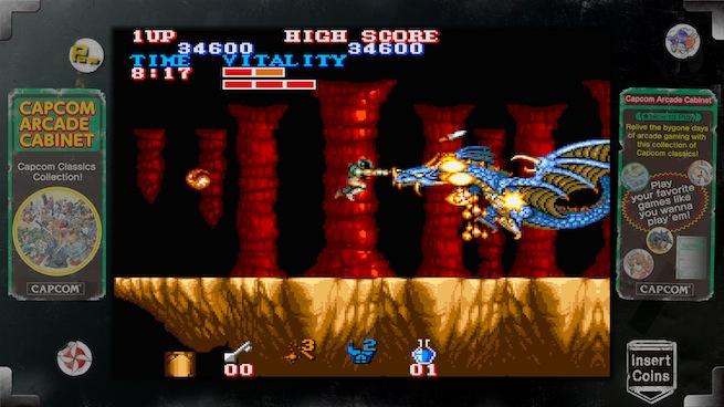 Capcom Arcade Cabinet: Black Tiger