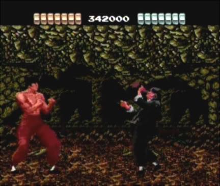 China Warrior Boss Fight