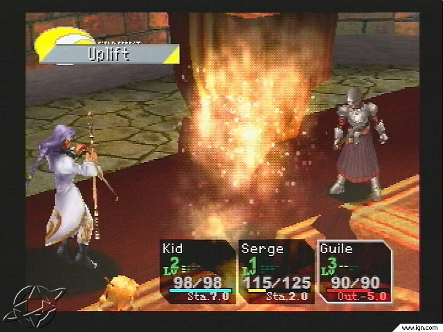 Chrono Cross: a mess of unimpressive gameplay and laughably