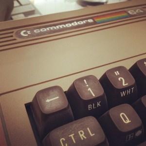 Commodore 64 keyboard close up Choubistar