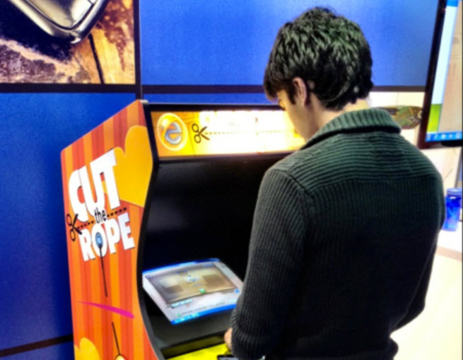 cut the rope arcade