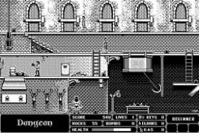 Screenshot from Dark Castle