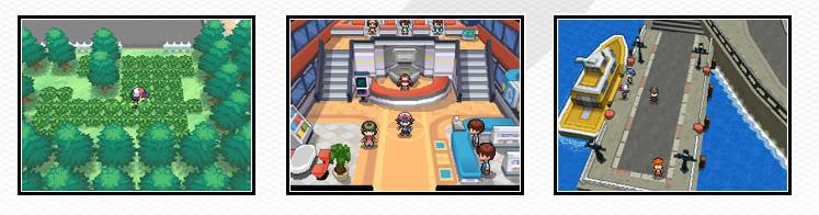 Pokémon Black and White screenshots