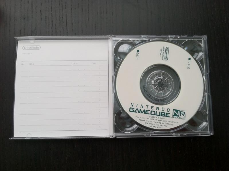 Gamecube NR disc