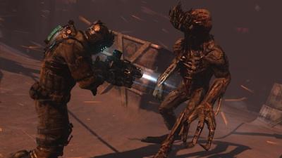Dead Space 3 Awakened: new necromorph