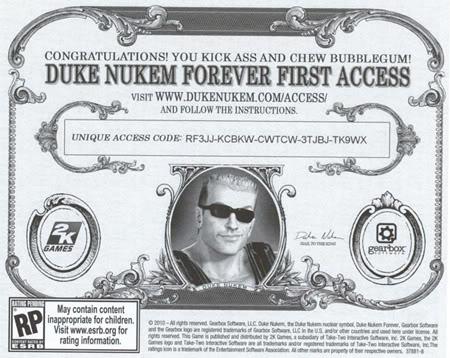 Duke Ticket