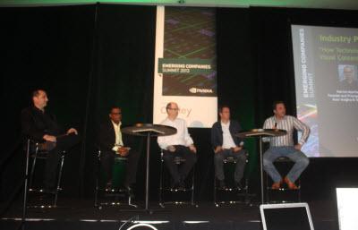 Entertainment panel at ECS
