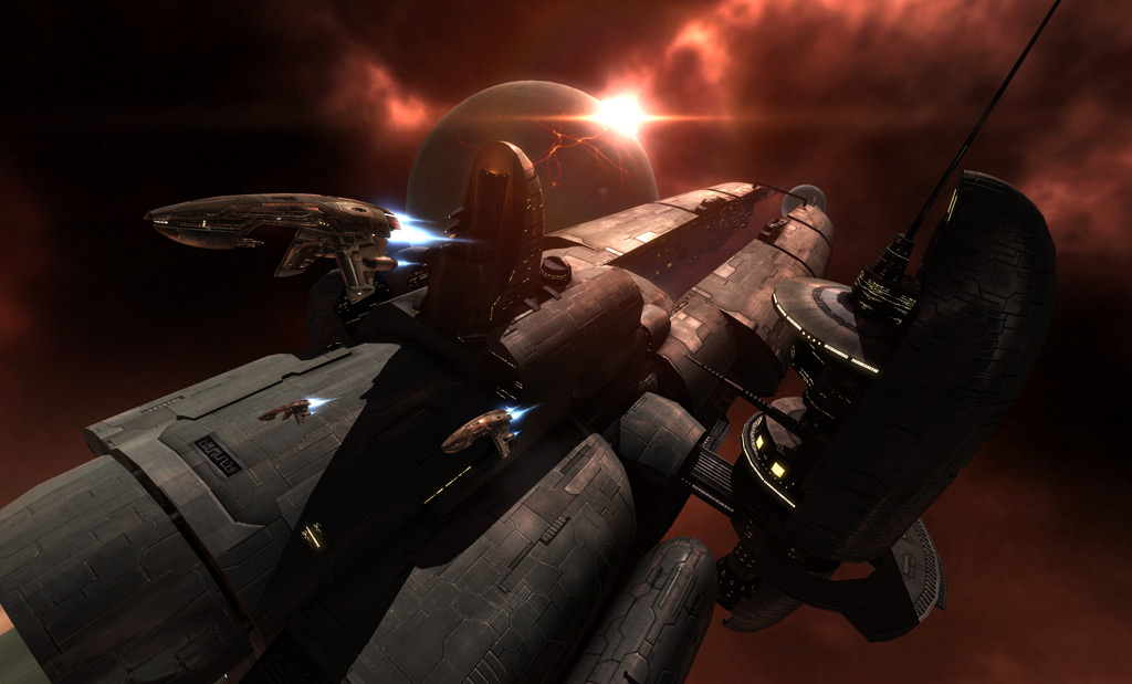A Battle In The Space Mmo Eve Online Caused More Than 300 000 In Destruction Venturebeat